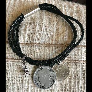 Jewelry - Women's Franc coin bracelet 🇫🇷